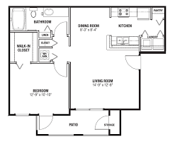 One Bedroom Floor Plans For Apartments by Apartments Near The Villages Florida With One Bedroom One Bath