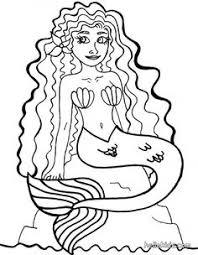 beautiful mermaid coloring pages mermaid coloring pages for kids az coloring pages mosaic