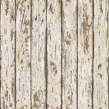 Faux Wood Wallpaper by Brewster Wallpaper Grendel White Faux Weathered Wood Wallpaper