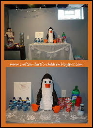 Winter Decorations For Parties - penguin winter land birthday party artsy momma