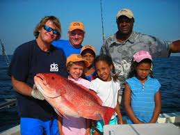 gulf shores fishing charters for families and family on vacation