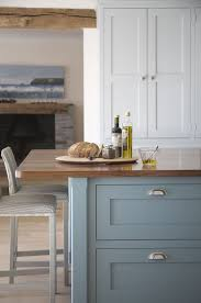 farrow and kitchen ideas farrow paint berrington blue walnut island top landmark