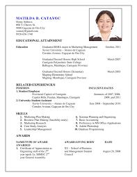 Make A Resume Online For Free by Resume Template Download Good Sample Professional Biodata 2016