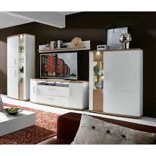 Wohnzimmer Modern Eiche Wohnwand Modern Braun Harzite Com