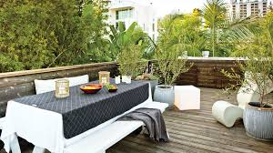 Outdoor Spaces Design - ideas for outdoor dining rooms sunset