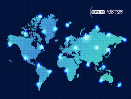 vector map of the world digital world map free vector 6 345 free vector for