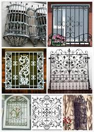 modern wrought iron window grill design buy modern wrought iron