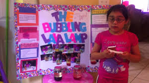 lava l science fair project mel s first grade science project youtube