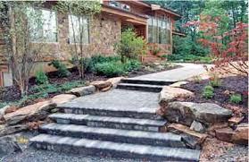 designing beautiful landscape steps