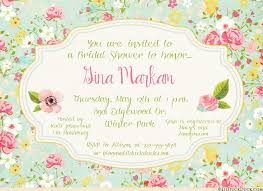 country chic bridal shower invitation rustic personalized