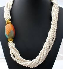 white beads necklace images 289 best beaded necklaces images beaded jewelry jpg