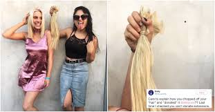 haircuts after donating hair lele pons accused of lying about donating her hair teen vogue