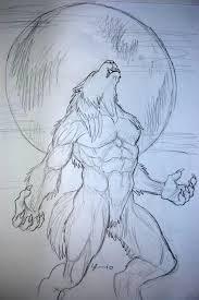 werewolf howling at the moon werewolves pinterest werewolves