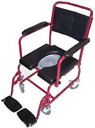 Shower Chairs With Wheels Amazon Com G U0026m Shower Chair With Wheels Commode Chair And Padded