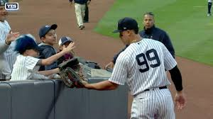 How Aaron Judge Became A Bomber The Inside Story Of The Yankees - yankees aaron judge credits mom for success new york yankees