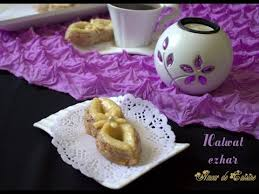 de amour de cuisine halwat ezhar gateau algerien amour de cuisine