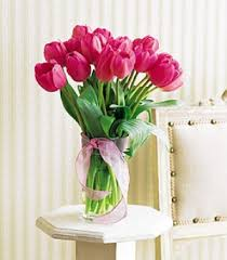 Tulip Bouquets Florist And Flower Shops Charleston Cross Lanes Wv Pink