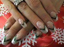 french nail art design idea for christmas fashion fuz