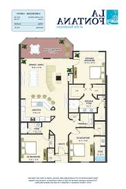 home design 3 bedroom one story tuscan house floor plans