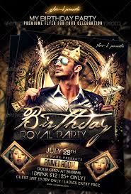 birthday flyers template birthday bash party free psd flyer