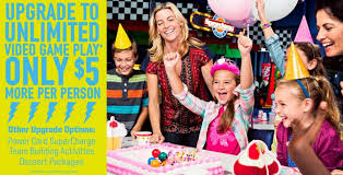 kids birthday party dave buster s kids birthday party venues