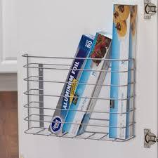 Kitchen Wall Bill Organizer Wayfair - Kitchen cabinet door organizer