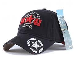 Jeep Hat Jeep 1941 Unisex Adjustable Horizon Classic Cap Black Free Size