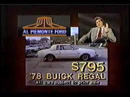 al piemonte ford al piemonte ford commercial 1986