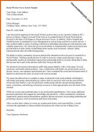 cover letter for social work job best social worker cover letter