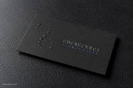 modern professional black business card template with foil dna