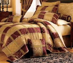 Comforter Bed In A Bag Sets Maroon Jewel Patchwork Comforter Bed In A Bag Twin