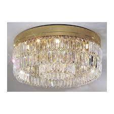 gold ceiling light fixtures kolarz prisma circular crystal ceiling light gold 344 112 3 free