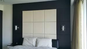 boring built in bedroom headboard