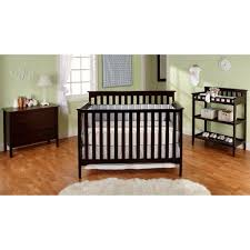 Walmart Nursery Furniture Sets Bsf Baby Grace 4 In 1 Nursery Furniture Set Cherry Walmart