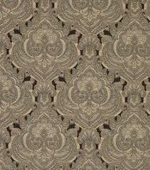 gold chinaisa paisley home decor fabric coffee table bench