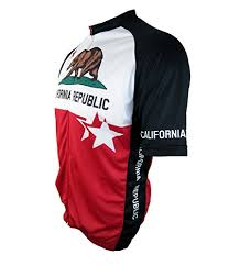 amazon com wolfbike cycling jacket jersey vest wind california republic mens short sleeve club cut cycling jersey