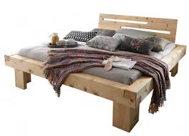 Schlafzimmer Bett Buche Balkenbett Massivholzbett Bett Holzbett Doppelbett Buche Eiche
