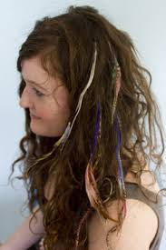 feather extensions give yourself feather hair extensions the hairpin