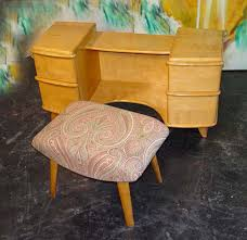 Heywood Wakefield Vanity Midcentury Retro Style Modern Architectural Vintage Furniture From