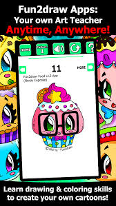 app shopper draw color learn draw easy cute cartoons
