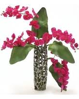 Fake Orchids Alert Amazing Deals On Silk Flower Arrangements In Vases