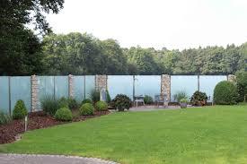 balkon glasscheiben glaszaun für garten und terrasse glasprofi24