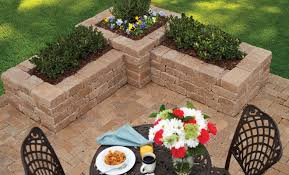 Home Depot Flower Projects - paver options for creating a circular patio the home depot community