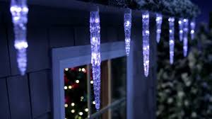 philips color changing icicle light set