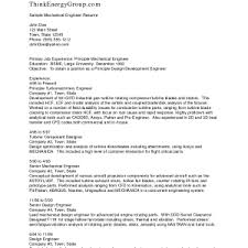 Resume Examples Mechanical Engineer Mechanical Engineering Resume Sample Mechanical Engineering