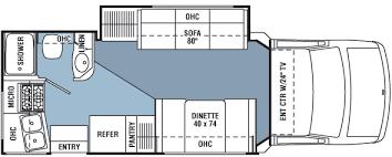 Coachmen Class C Motorhome Floor Plans 2004 Coachmen Concord Class C Rvweb Com
