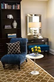 turquoise la u2013 royal blue u0026 chocolate brown chic living room
