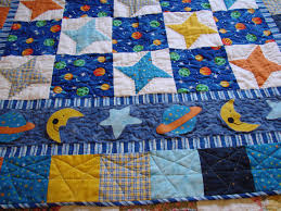 theme quilts outer space baby boy quilt by danastiegemeier on etsy 135 00