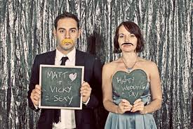 photo booth wedding idea for a photo booth and guest book idea someone