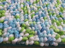 Microfiber Chenille Bath Rug with Space Dye Shaggy Chenille Bath Mat Loop Pile Microfiber Mat Buy